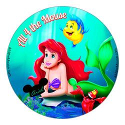 A4M Little Mermaid Ariels Hat Button