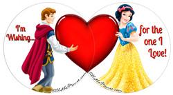 Snow White & Prince Valentines Set