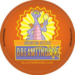 Imagination Dreamfinders Button
