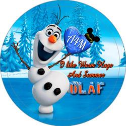 Olaf likes Warm Hugs Button