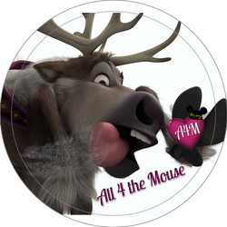 Licking Sven Button