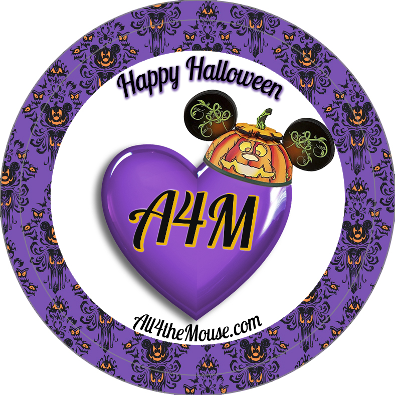 A4M Purple Halloween 2015 Button