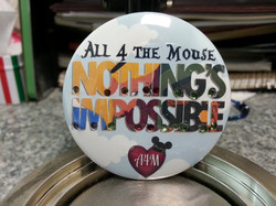 Nothing's Impossible Sparkle Button