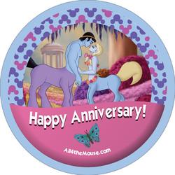 Fantasia Anniversary Button