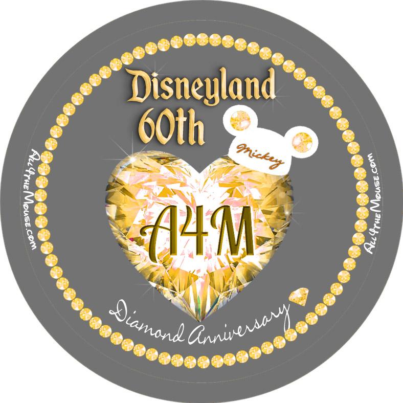 Disneyland 60th Yellow Diamond