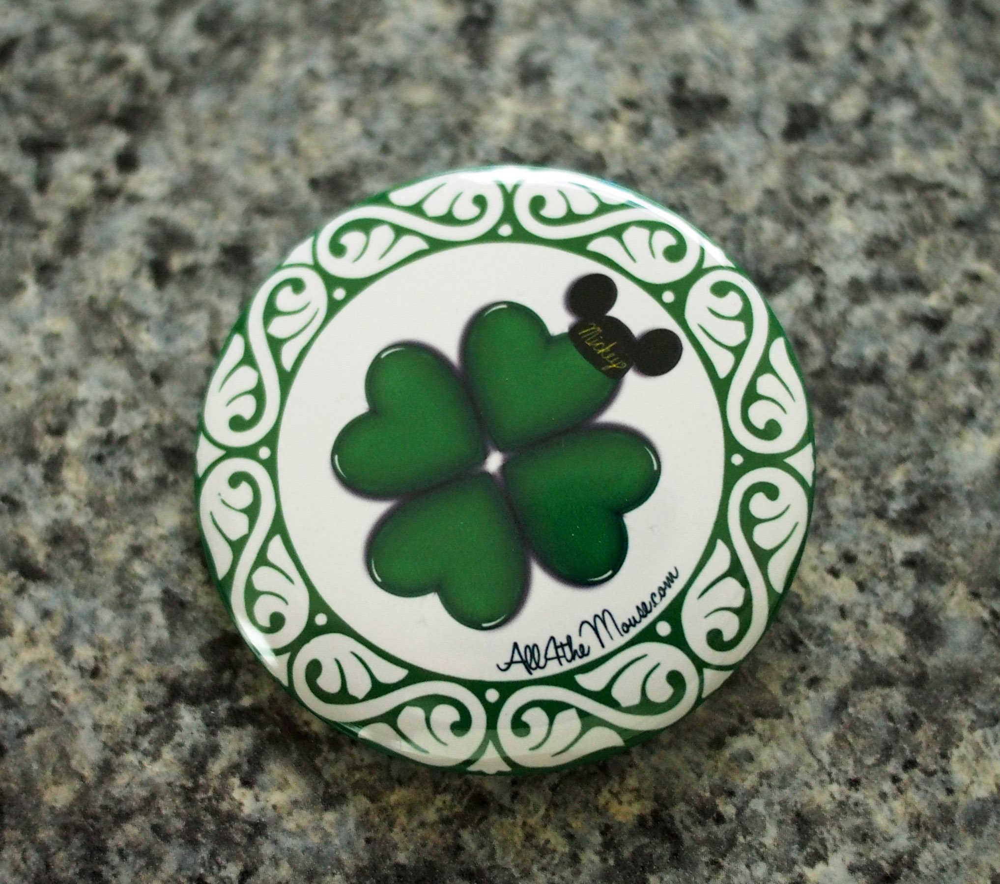 A4M St Patricks Button