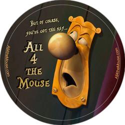 Alice Doorknob Button