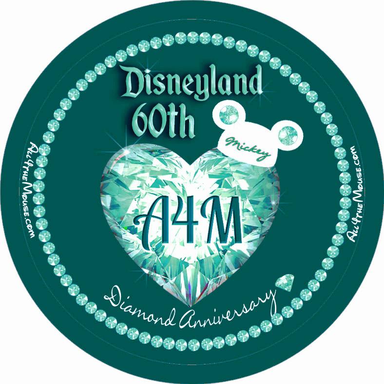 Disneyland 60th Turquoise Diamond