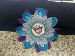 A4M Haunted Mansion Heart Flowerclip