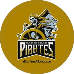 2014 Caribbean Pirates Button