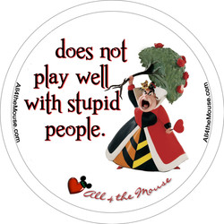 Queen of Hearts Does Not Play Well