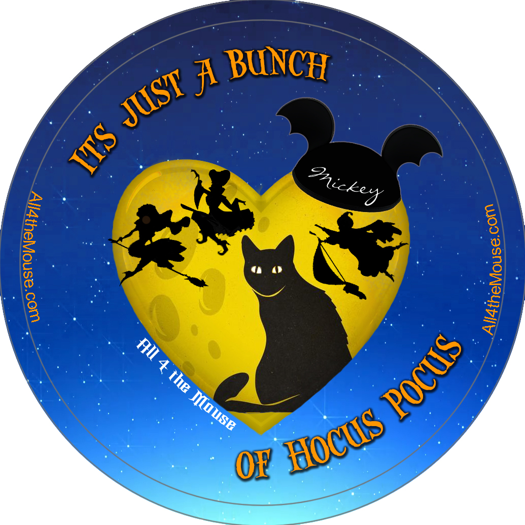 Heart of Binx Hocus Pocus Button