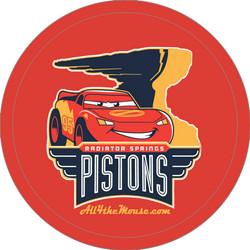 2014 Radiator Springs Pistons Button