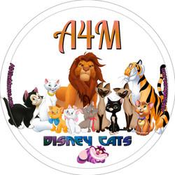 Disney Cats Button