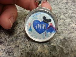 A4M Frozen Heart Pendant