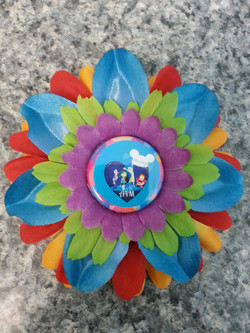 Inside Out Flowerclip