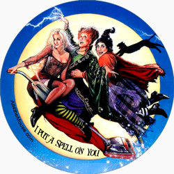 I put a Spell on You! Button