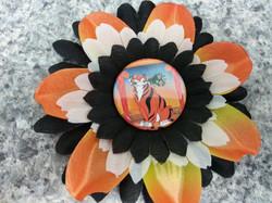 Shere Khan Flower Hair Clip