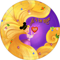 A4M Tangled Button