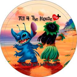 Lilo & Stitch Together Button