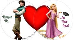 Rapunzel & Flynn Valentines Set