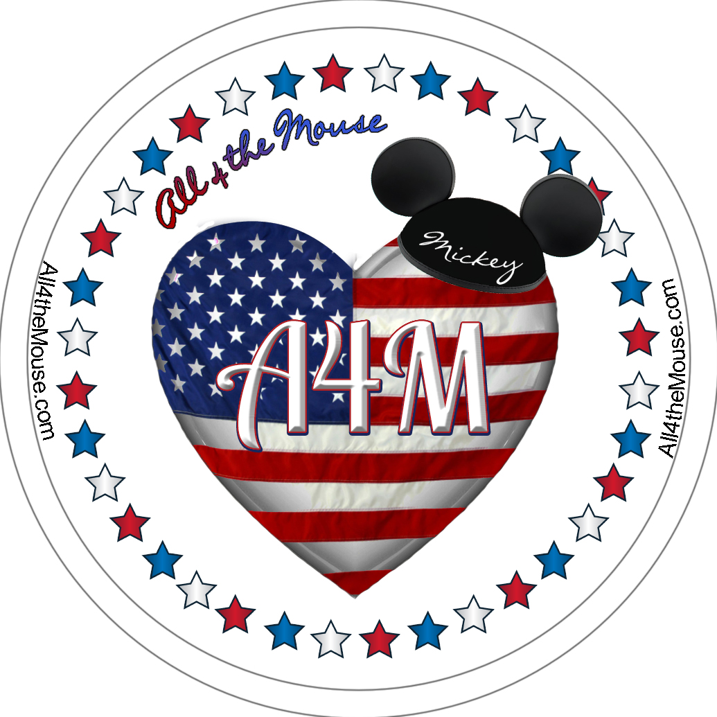 Black Hat Patriotic Button