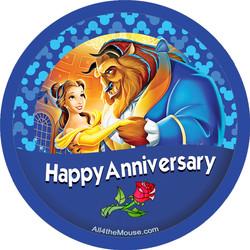 Beauty & the Beast Happy Anniversary