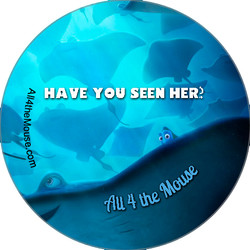 A4M Finding Dory Stingray Button