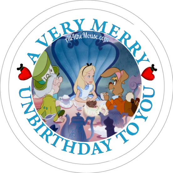 Alice#2 Unbirthday Button