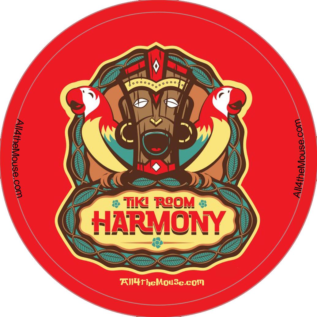 Tiki Room Harmony Button