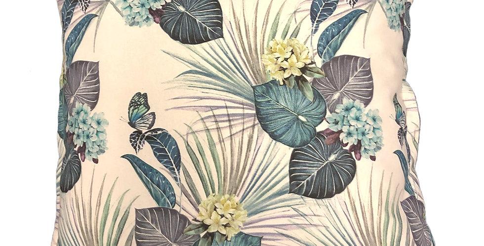 Plum Leaves Cushion