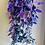 Thumbnail: Tradescantia Zebrina Multi-Colour Discolour in Hanging Basket
