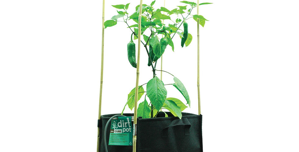 PLANTIT Square Base Dirt Pot 26L