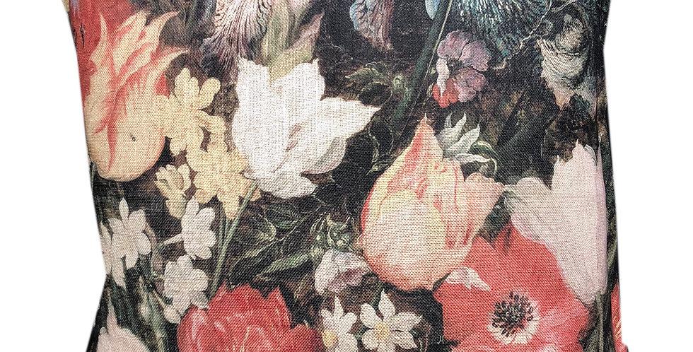 Baroque Floral Cushion