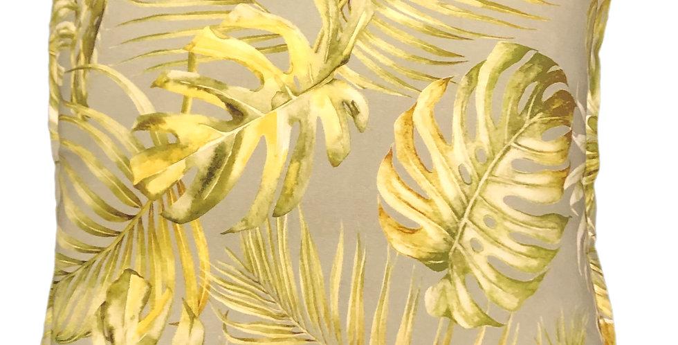 Grey Palms Cushion
