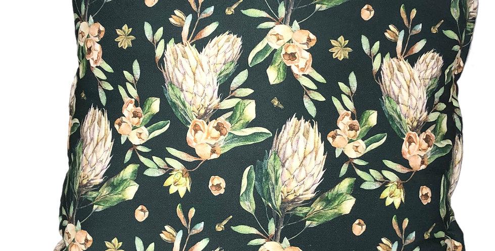 Protea Moon Cushion