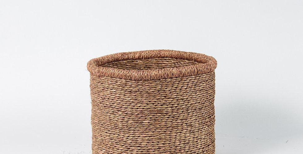 Natural Plain Basket - Medium