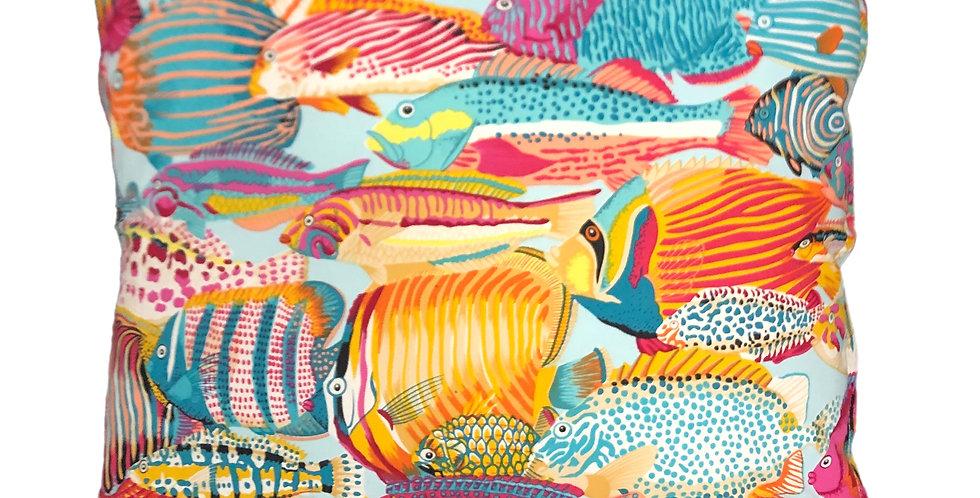 Tropical Fish Cushion