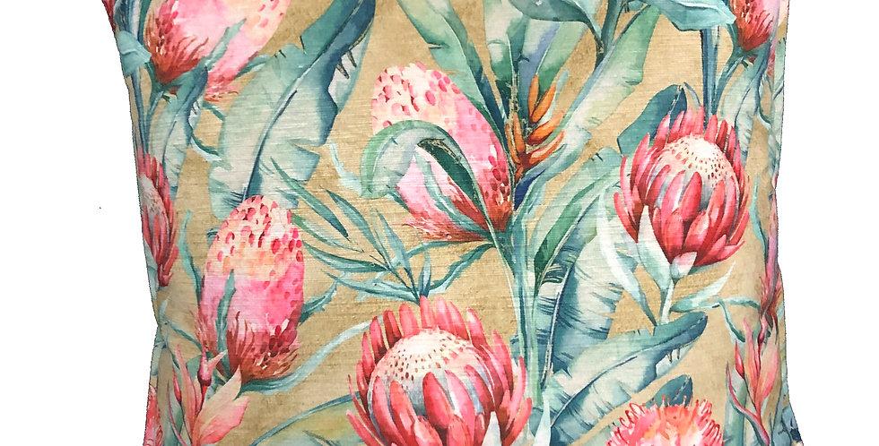 Protea Bud Cushion