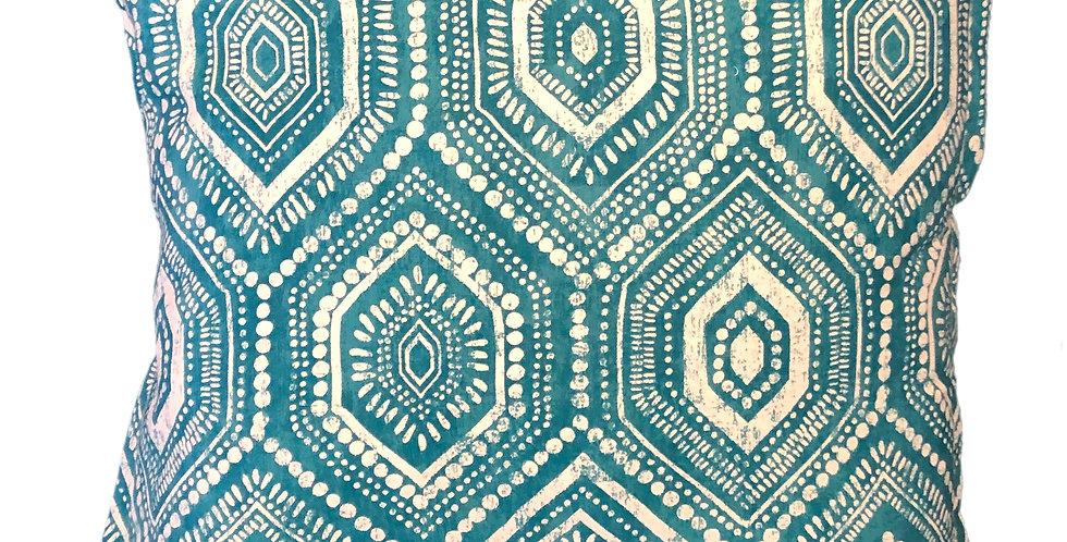 Dots Aqua Cushion