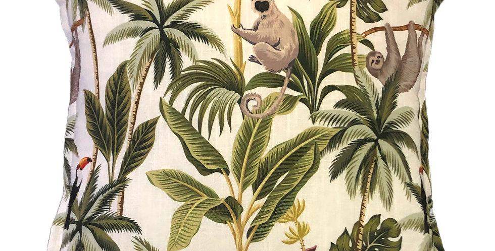 Sloth Ivory Cushion