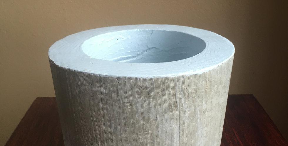 Grey Concrete Planter