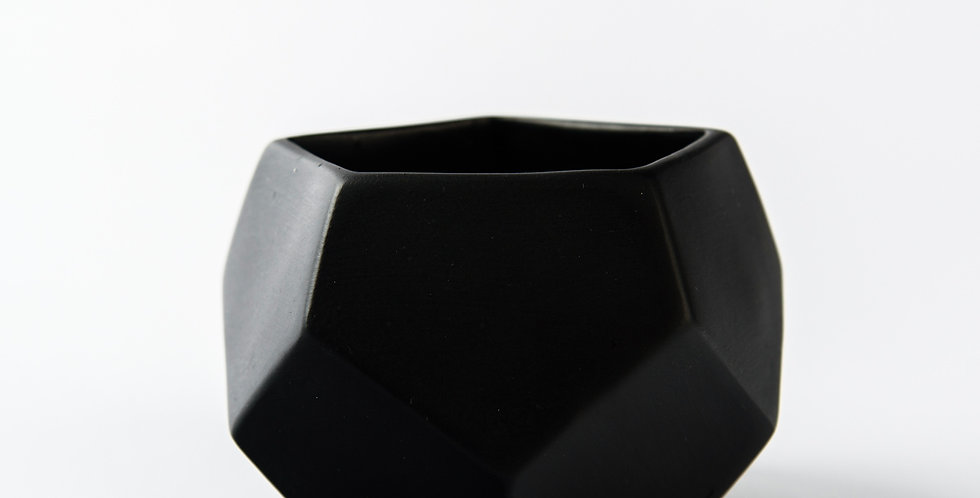 Hexagon Mini Black
