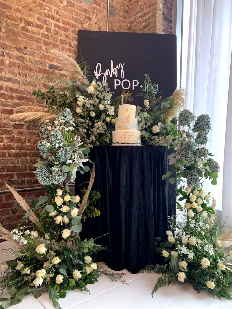 Florals Lilly Rose & Flowers Rentals PropHouse Bham Branding Paper&More Creations Cake Fruint & Innovations