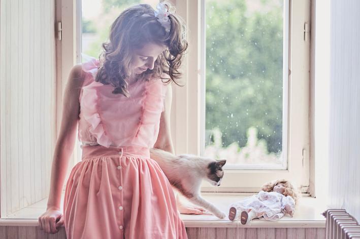 Photographe portrait femme Rennes