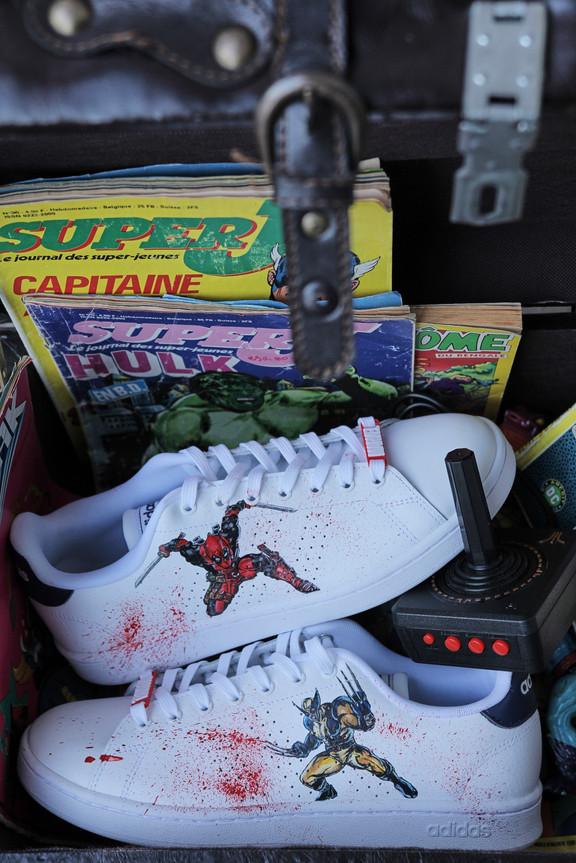 Packshot sneakers Rennes