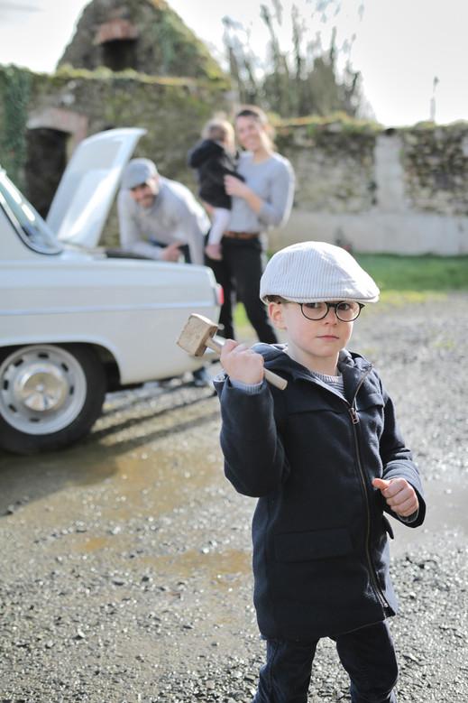 Photos de famille Bretagne