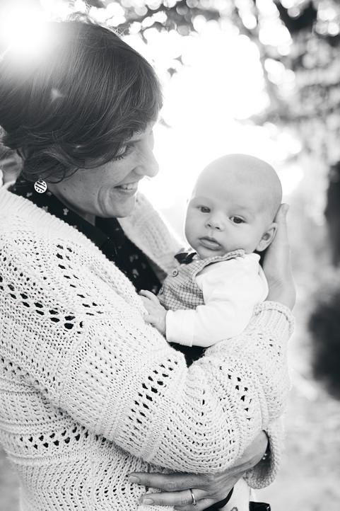 Portrait mère et bébé Saint-Brieuc