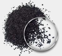 kauçuk granül resmi siyah 1.4mm