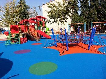 çocuk parkları kauçuk granül zemin kaplama